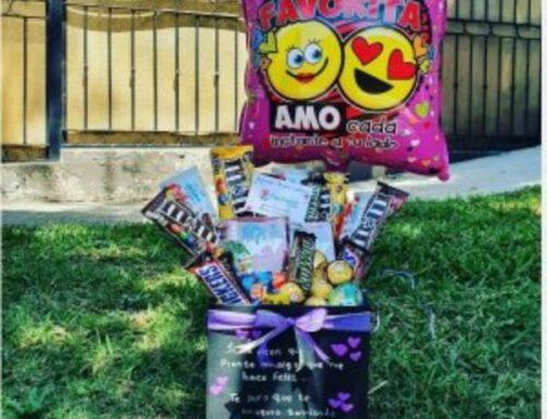 Arreglo de Dulces (Chocolates) y Globo