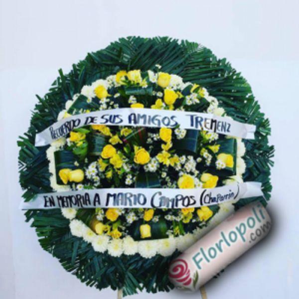 Corona funebre T6