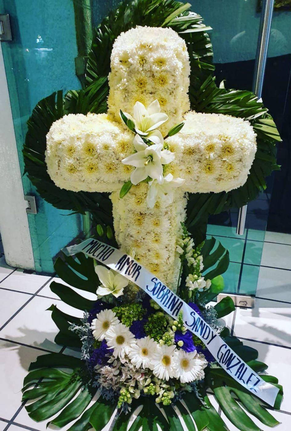 Cruz Floral Fúnebre