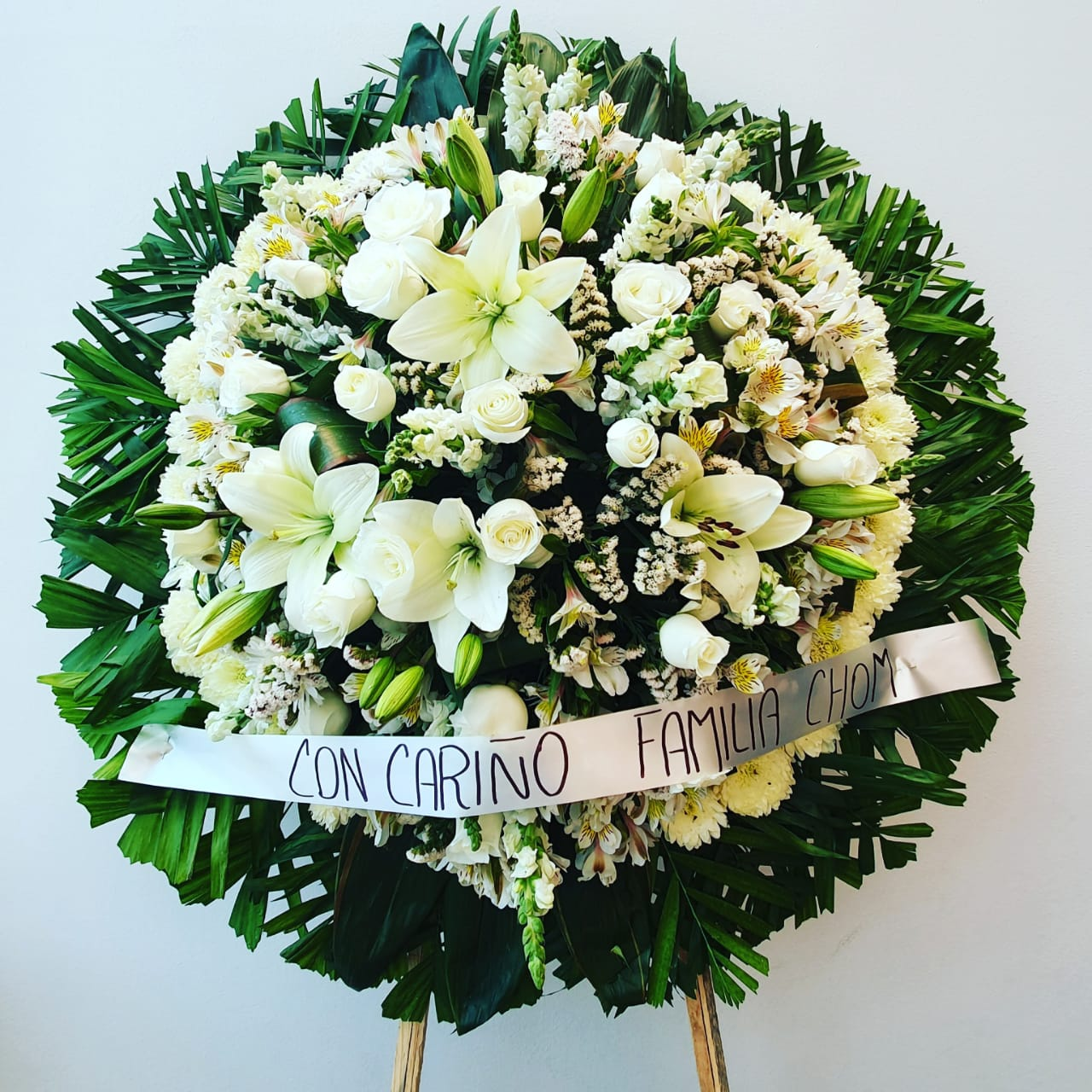 Corona funebre T5