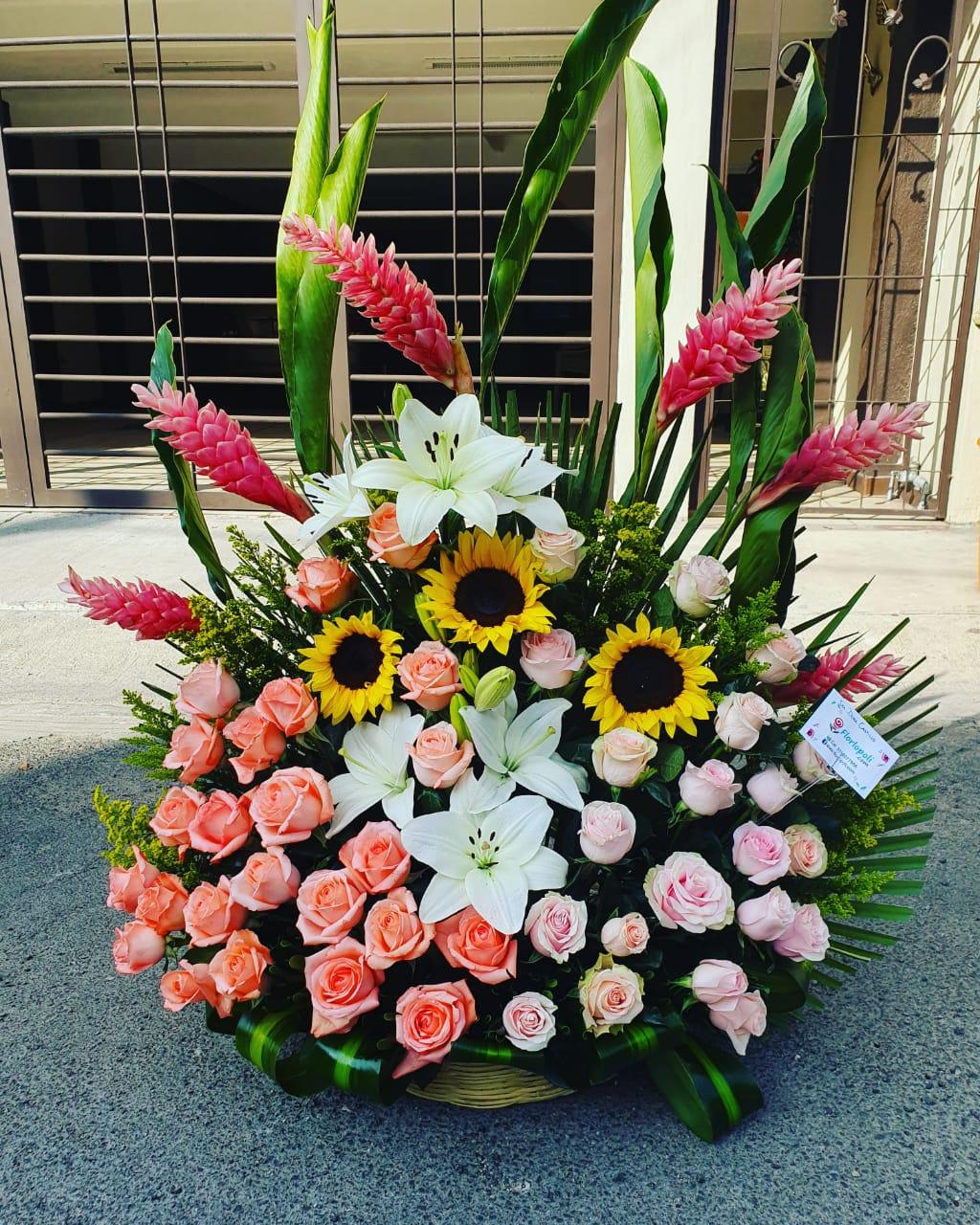 Diseño floral surtido