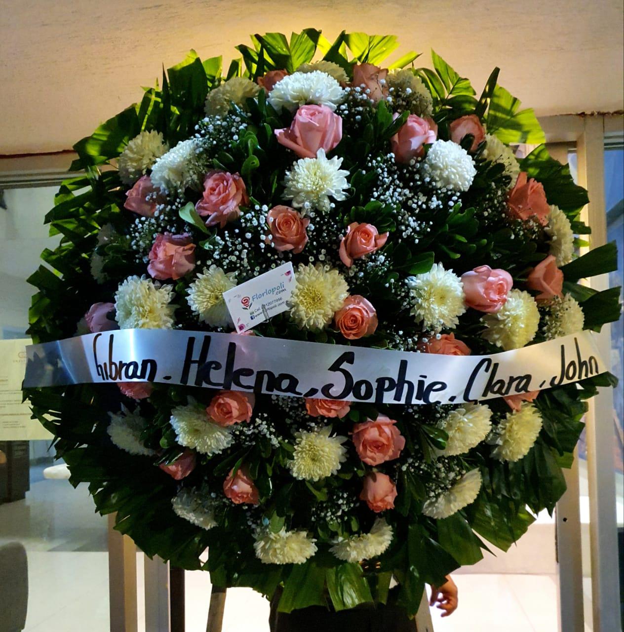 Corona funebre T9