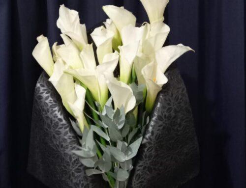 Elegante Bouquet de Alcatraces